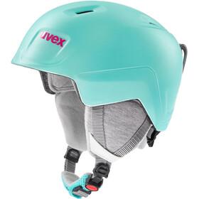 UVEX Manic Pro Helm Kinder mint mat